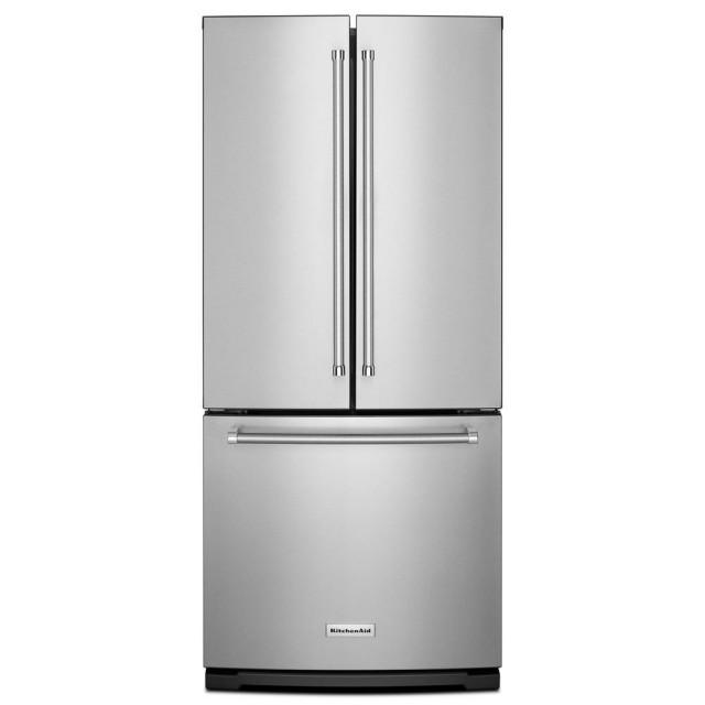 KitchenAid KRFF300ESS 30 In. W 19.7 Cu. Ft. French Door Refrigerator In Stainless Steel