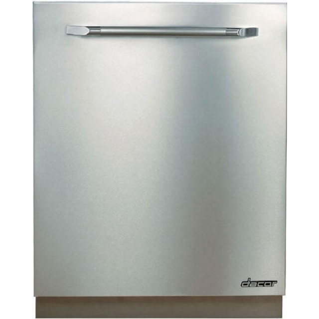 Dacor RDW24S Renaissance Series 24 Inch Built In Fully Integrated Dishwasher in Stainless Steel