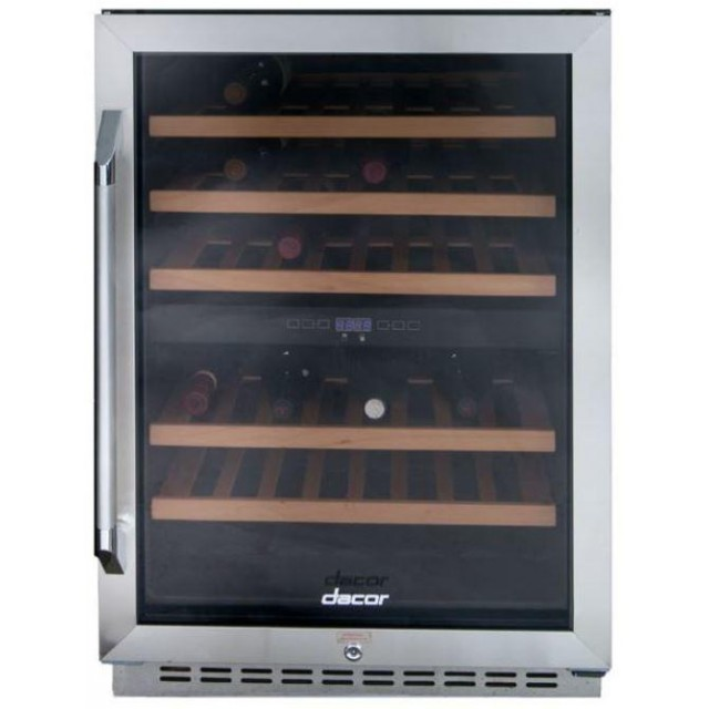 Dacor RNF242WCR Renaissance Series 24 Inch Freestanding Wine Cooler in Stainless Steel