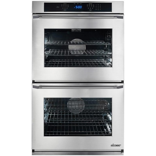 Dacor RNWO230ES Renaissance Series 30 Inch 9.6 cu. ft. Total Capacity Electric Double Wall Oven in Stainless Steel