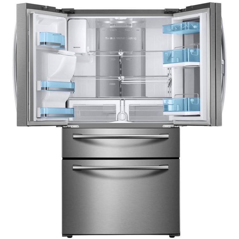 Samsung Rf22kredbsr 22 4 Cu Ft Food Showcase 4 Door