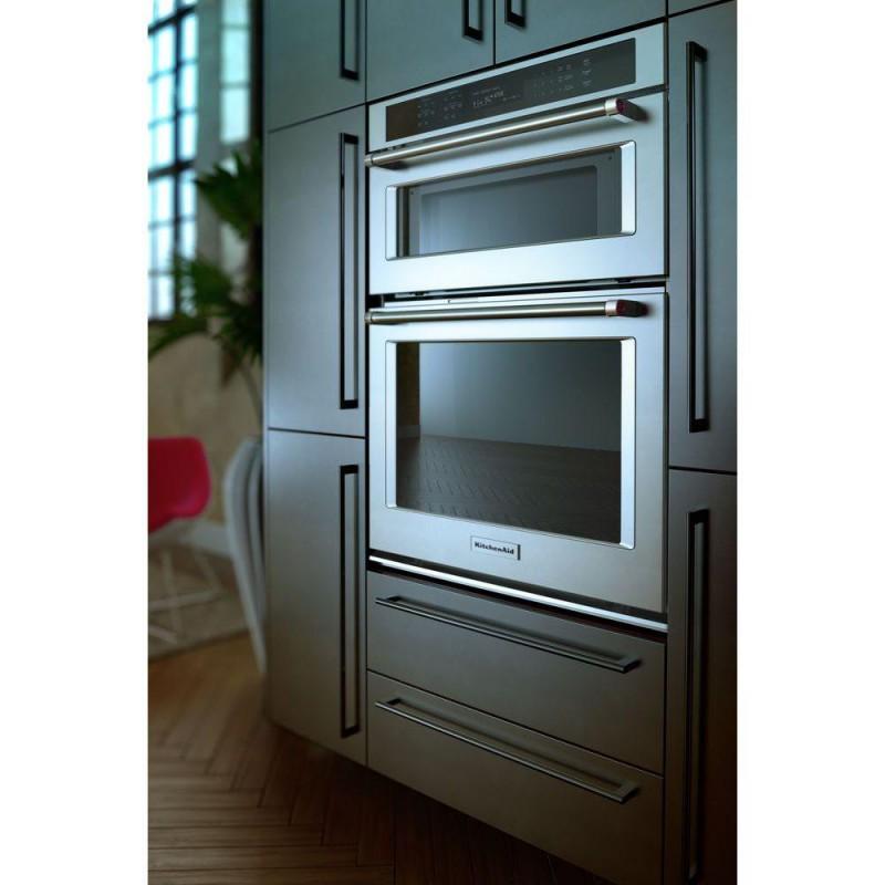 kitchenaid koce500ess 30 in. electric even-heat true