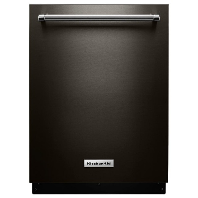 KitchenAid KDTE334GBS Top Control Built-In Tall Tub Dishwasher in Black Stainless with Fan-Enabled PRODRY