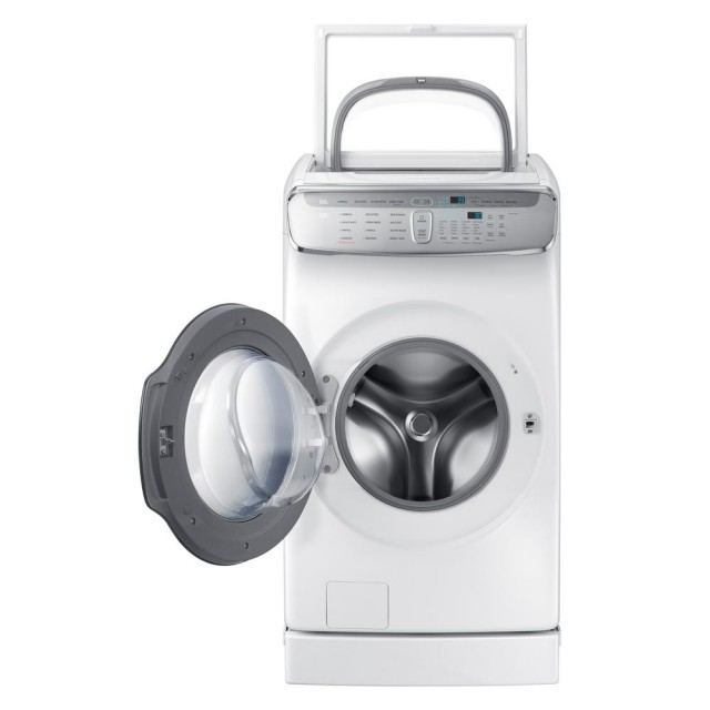 Samsung WV60M9900AW 6.0 Total cu. ft. High-Efficiency FlexWash Washer in White