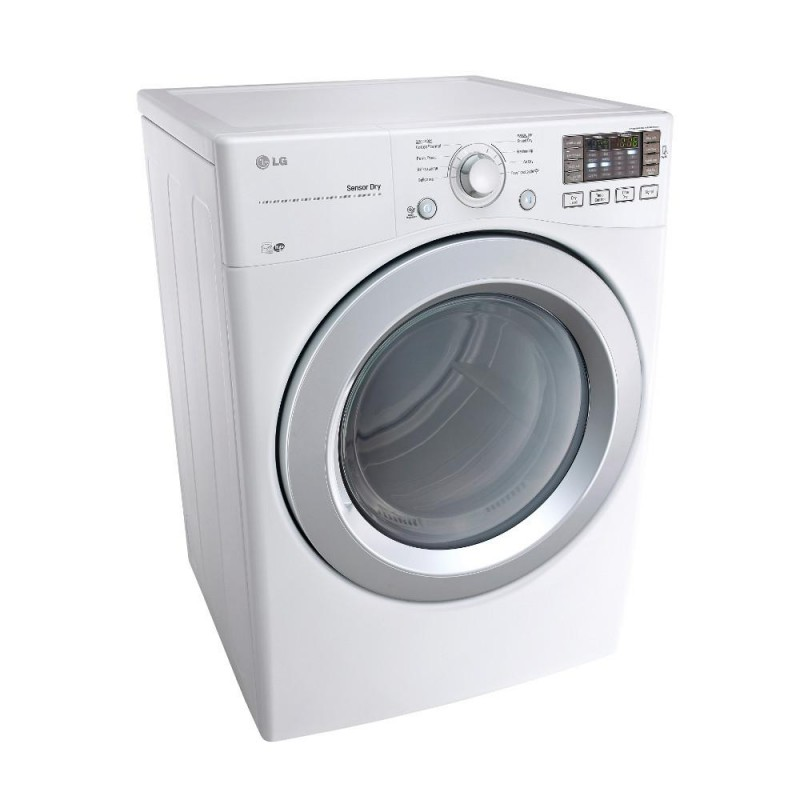 Lg Dle3170w 7 4 Cu Ft Electric Dryer In White Energy Star
