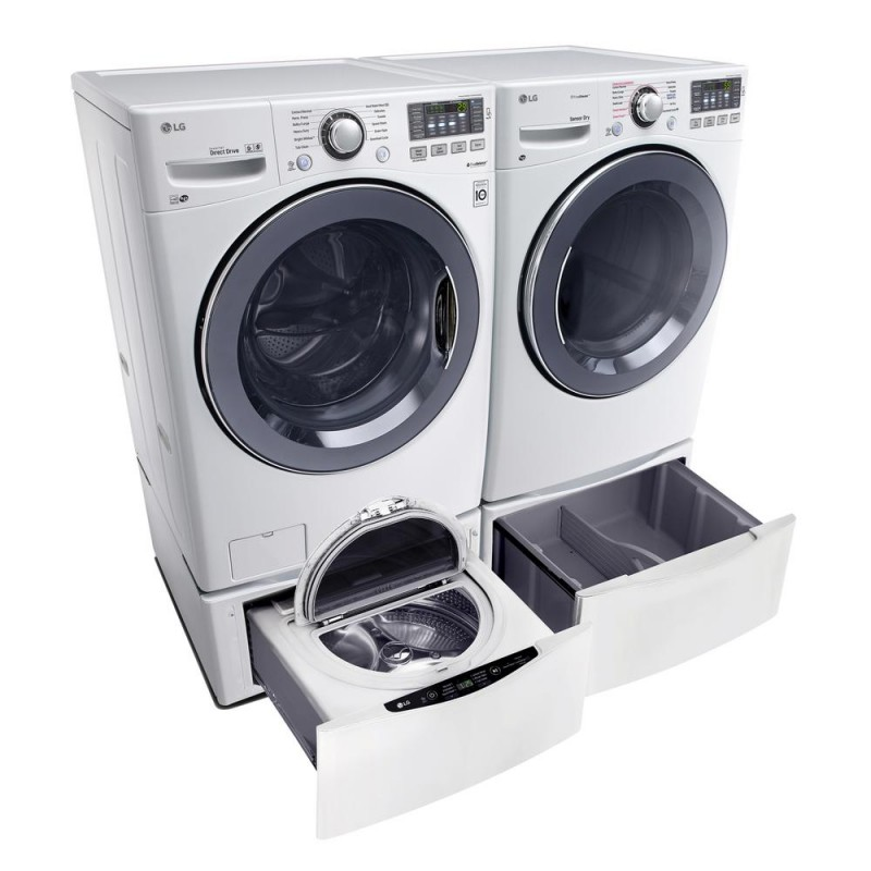 lg washer includes sidekick washer pedestal and gas dryer