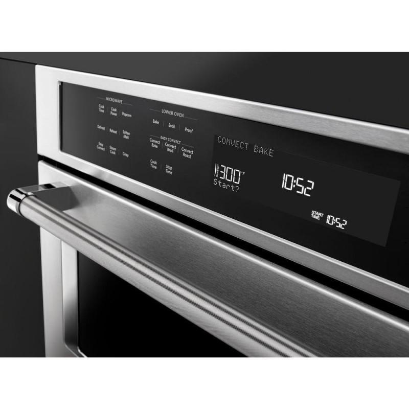 kitchenaid koce507ess 27 in. electric even-heat true