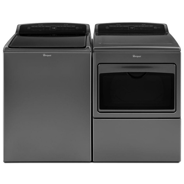 Whirlpool  WTW7500GC 4.8 cu. ft. Top Load Washer and WED7500GC 7.4-cu ft Electric Dryer