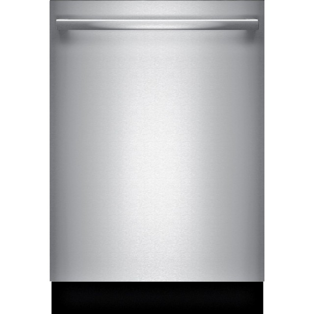 "Bosch SHXM63W55N 24"" 300 Series Built-In Dishwasher with Bar Handle in Stainless Steel"
