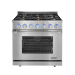 Dacor Renaissance Series RNRP36GS/NG 36 In. 5.2 cu.ft. Freestanding Gas Range in Stainless Steel