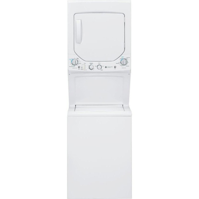 Ge Spacemaker Washer And Dryer ~ Ge gud gssjww spacemaker washer and gas dryer in white