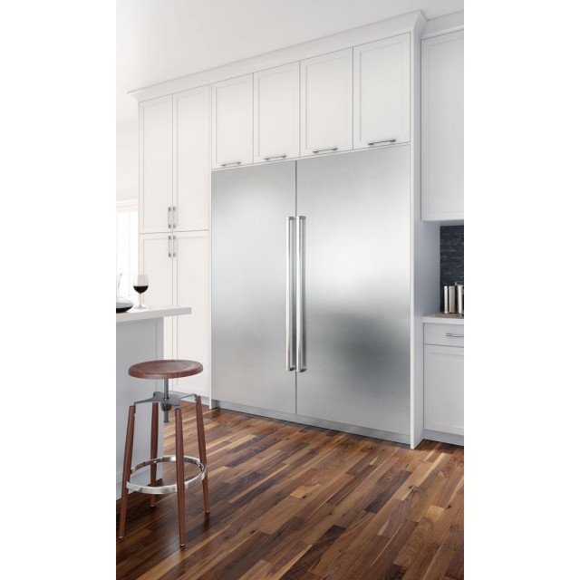 Sub-Zero IC36RIDRH Designer Series 36 Inch Built In Refrigerator Column with 21.4 cu. ft. Capacity and IC24FILH 24 Inch Built In Freezer Column with 12.3 cu. ft. Capacity in Panel Ready