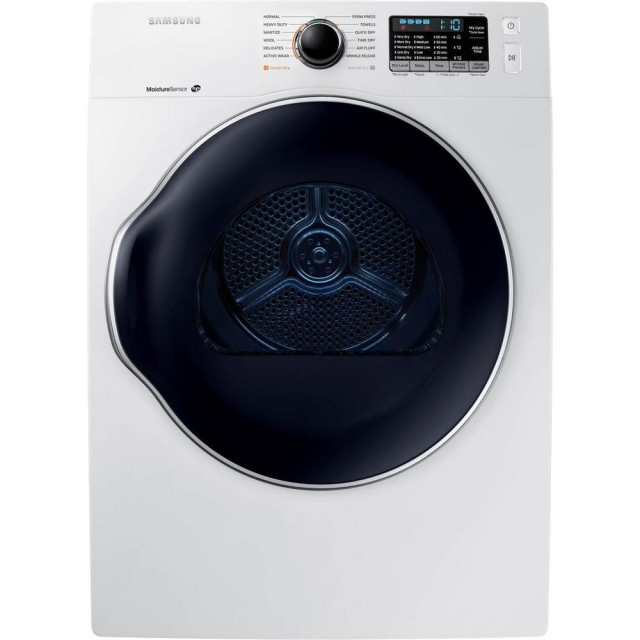 Samsung DV22K6800EW 24 Inch 4.0 cu. ft. Electric Dryer with 12 Preset Dry Cycles
