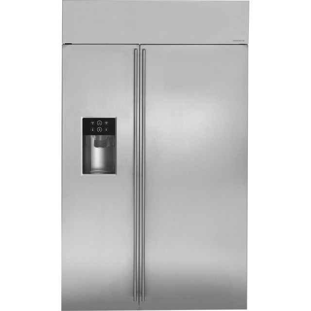 GE Monogram ZISS480DKSS 48 Inch Built-in Side-by-Side Refrigerator
