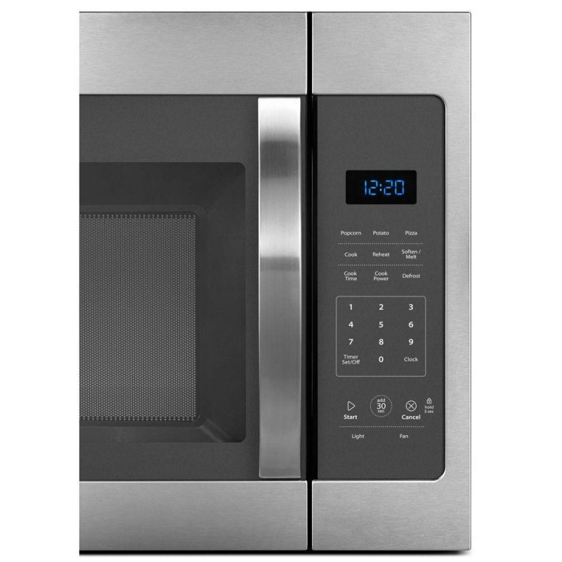 Whirlpool Wmh31017fs 1 7 Cu Ft Over The Range Microwave