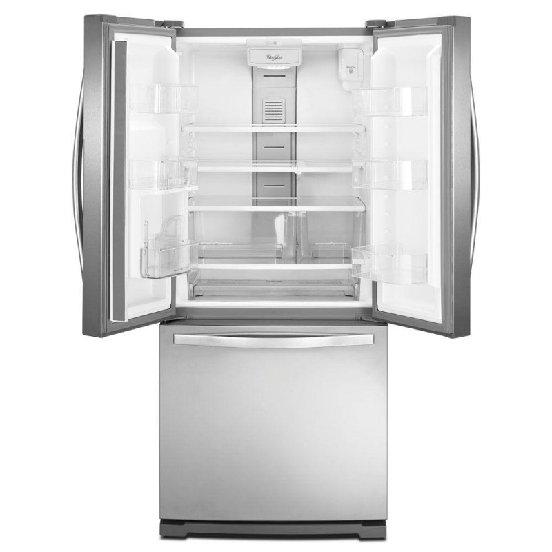 Whirlpool Wrf560seym 30 In W 19 7 Cu Ft French Door