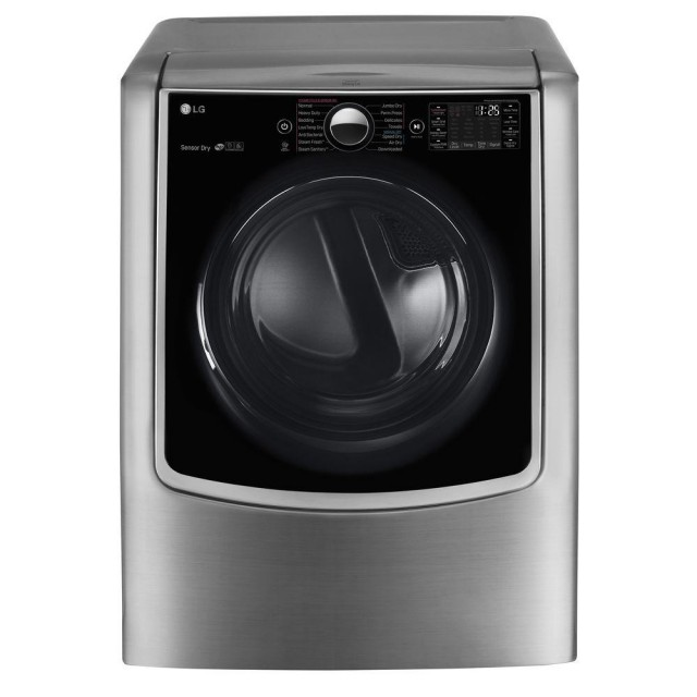 LG DLEX9000V 9.0 Cu.Ft. Electric Dryer With Steam Option In Graphite