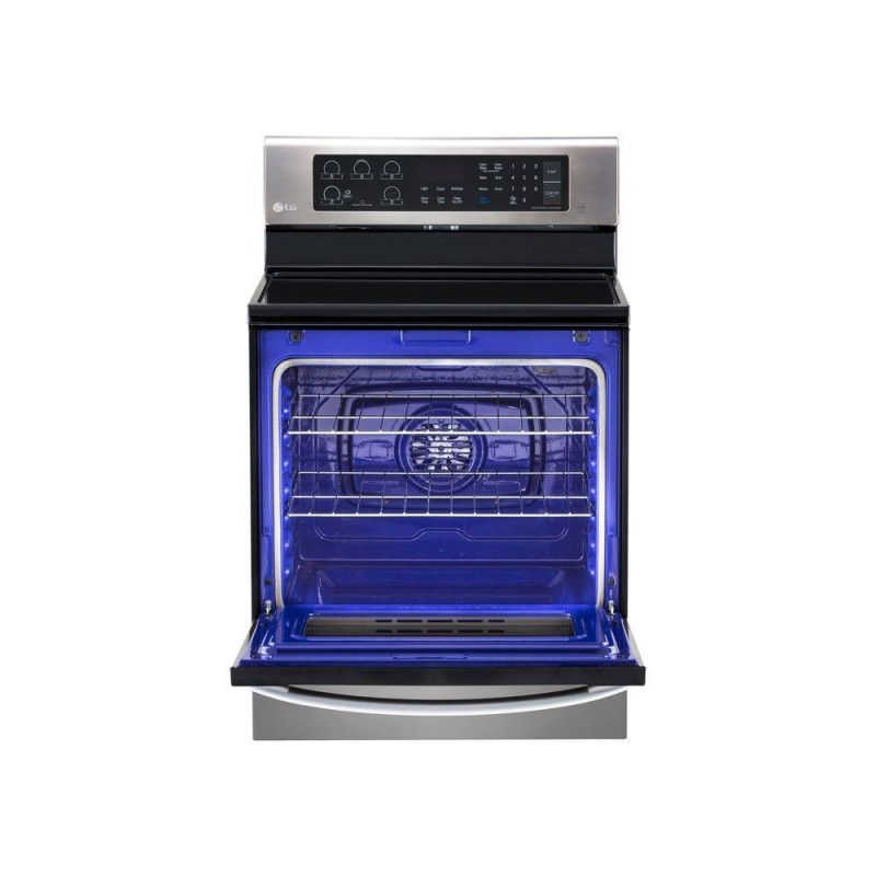 Lg Lre3061st 30 Stainless Steel Electric Smoothtop Range