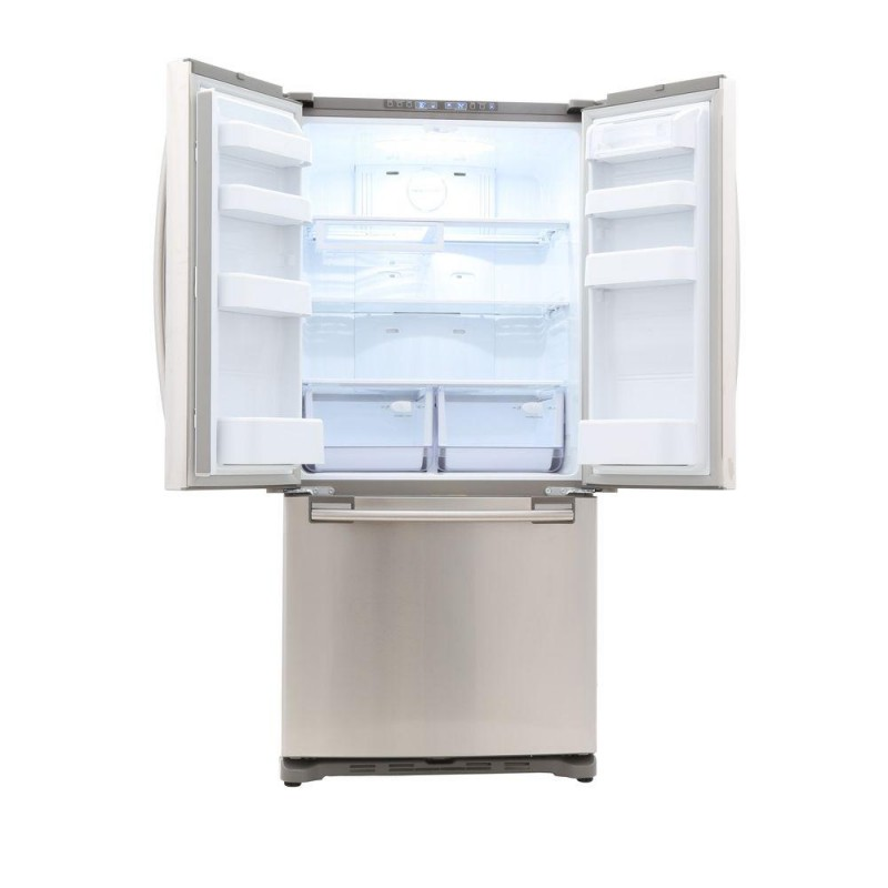 Samsung RF18HFENBSR 33 In. W 17.5 Cu. Ft. French Door Refrigerator In  Stainless Steel, Counter Depth