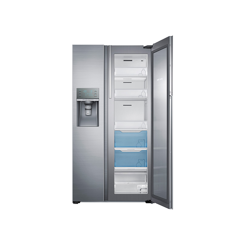 Samsung 28 5 Cu Ft Side By Side Refrigerator In