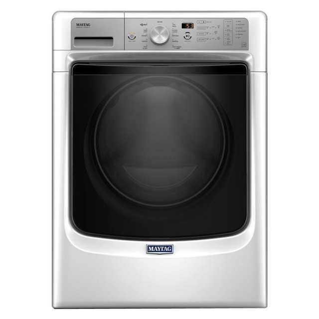 Maytag MHW5500FW 4.5 cu. ft. High-Efficiency Front Load Washer with Steam in White, ENERGY STAR