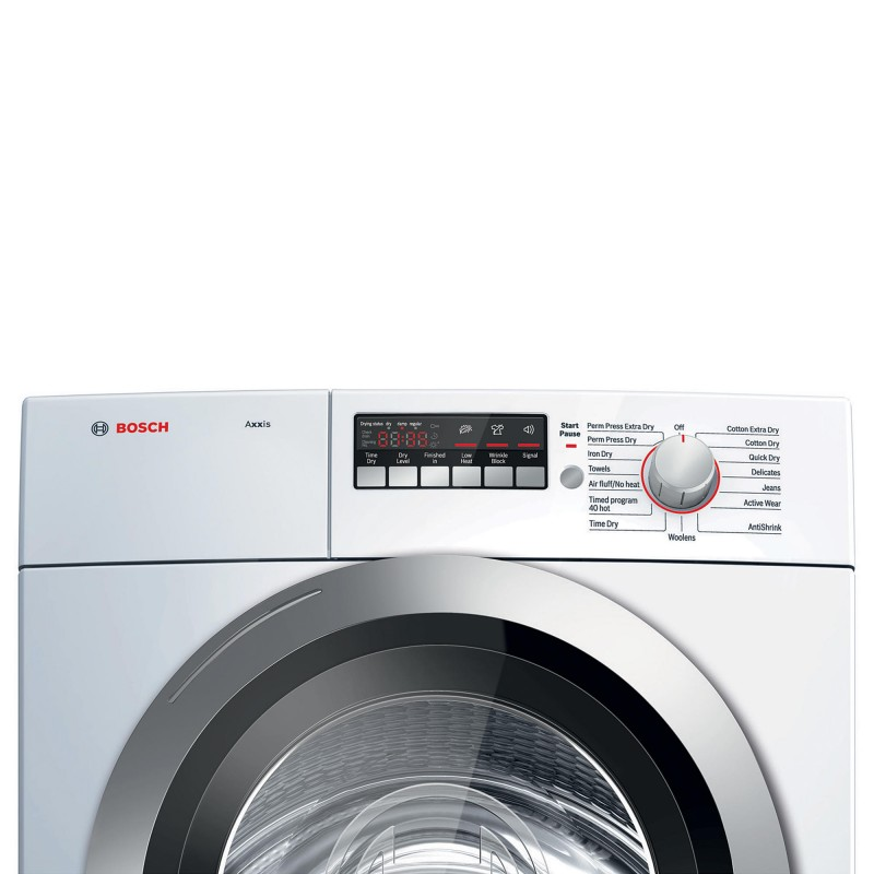 Bosch Axxis 4 0 Cu Ft Condensation Electric Dryer White