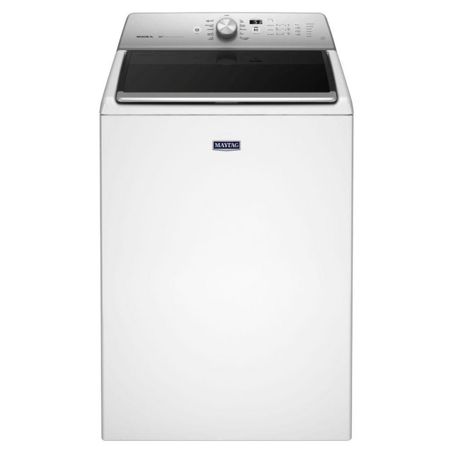 Maytag MVWB835DW  5.3 cu. ft. High-Efficiency Top Load Washer in White, ENERGY STAR