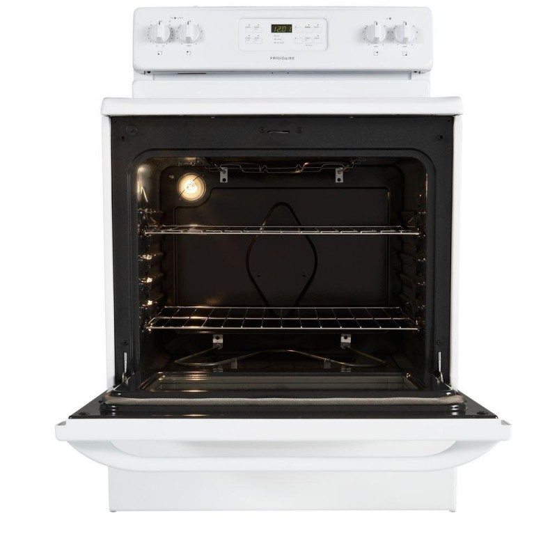 Frigidaire Ffef3018lwg 30 In 5 3 Cu Ft Electric Range