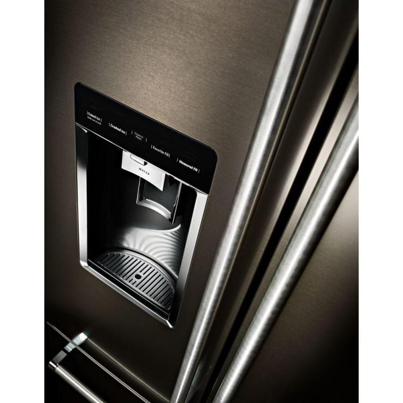 Kitchenaid Black Counter Depth Refrigerator: KitchenAid Counter Depth French Door Black Stainless Steel