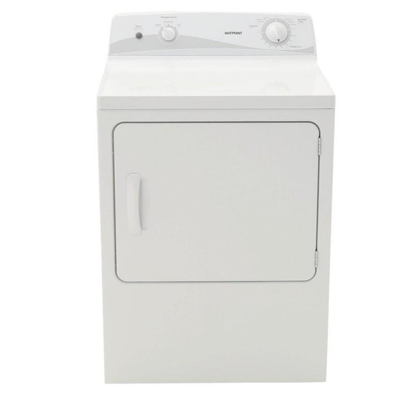 Hotpoint Htdx100em8ww 6 0 Cu Ft Electric Dryer