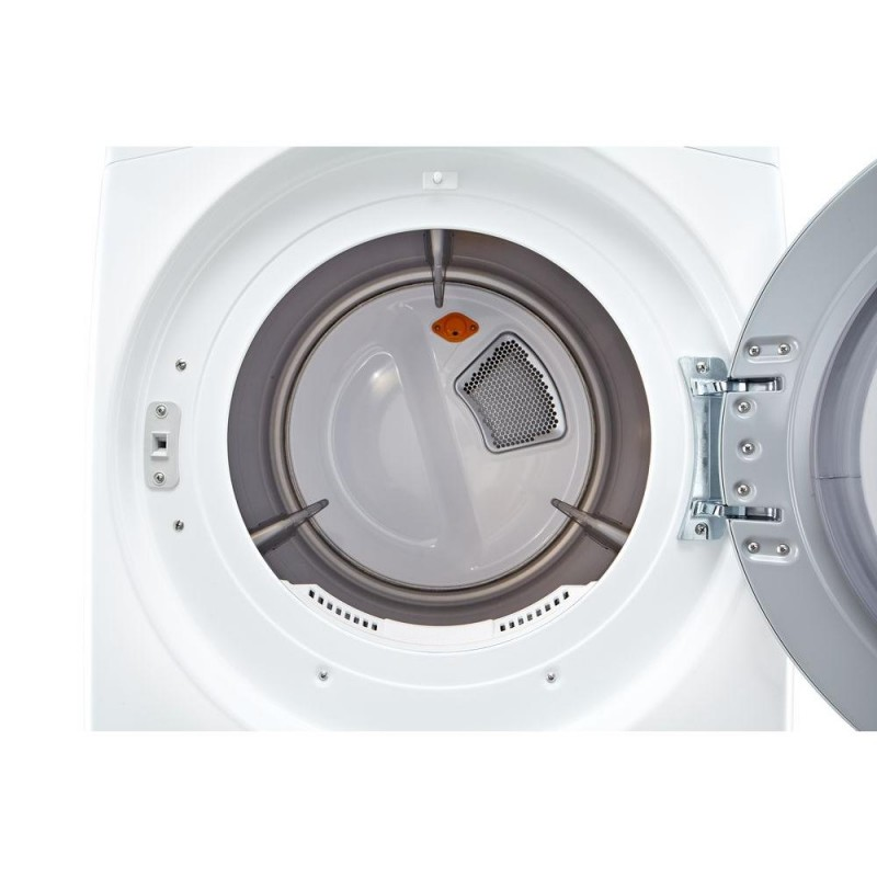 Lg 7 4 Cu Ft Gas Dryer With Steam In White Energy Star