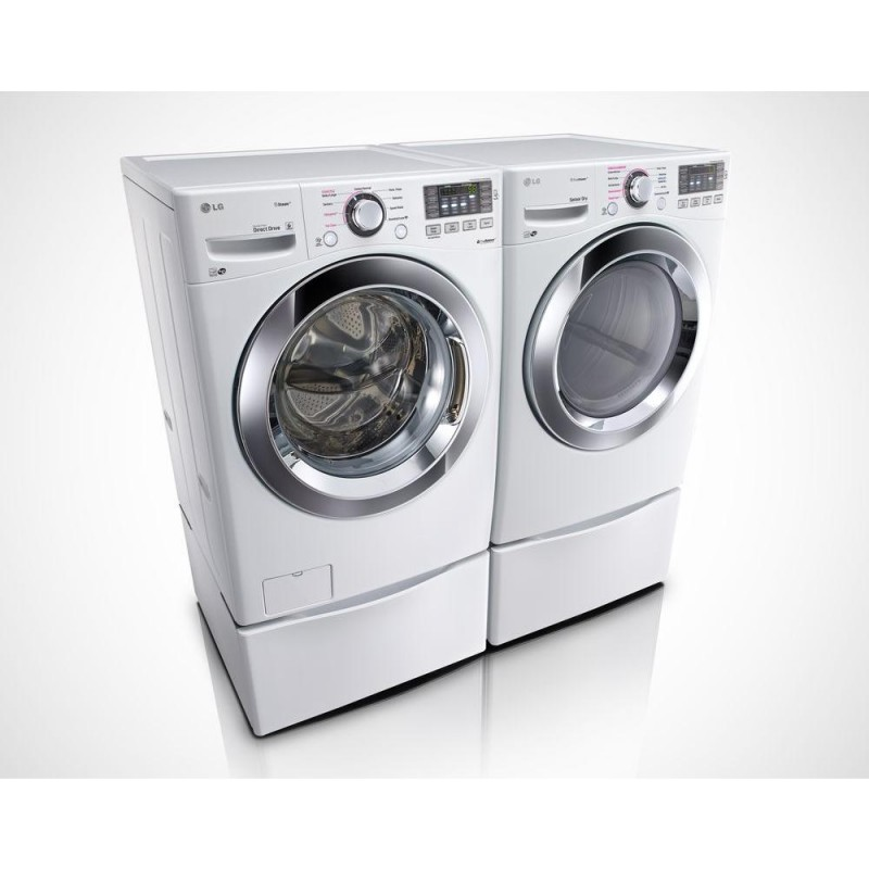 lg 74 cu ft gas dryer with steam in white energy star u0026 45 cu ft