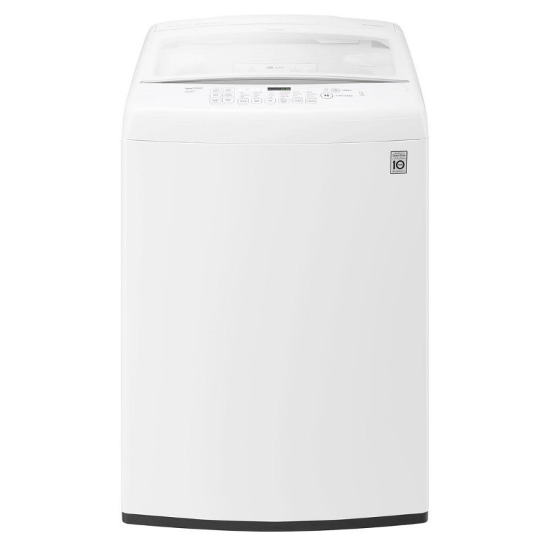 lg wt1501cw 45 cu ft top load washer in white energy star
