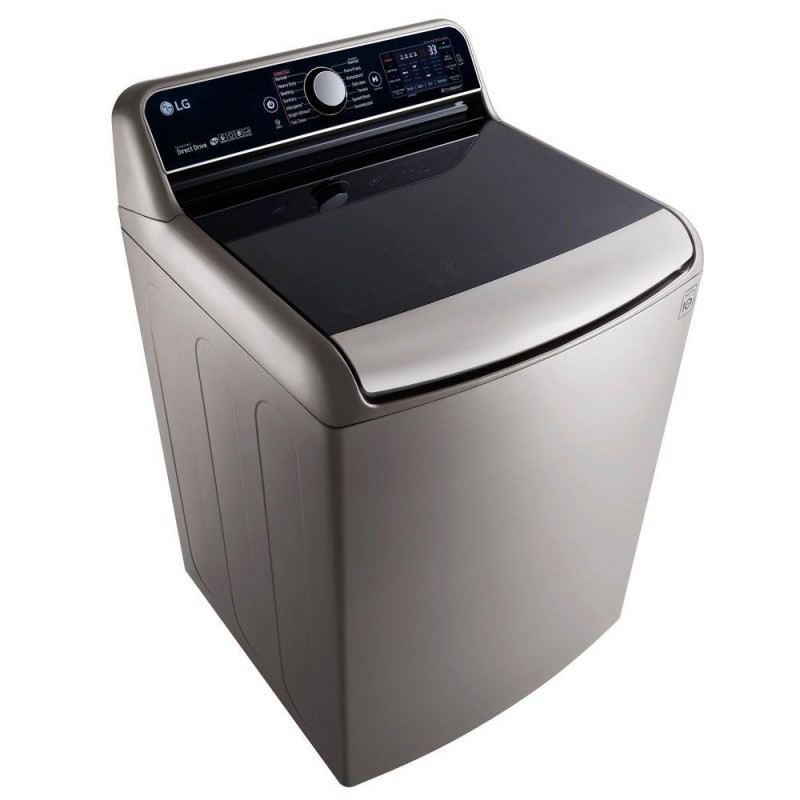 Lg Washer 5 7 Cu Ft High Efficiency Top Load Washer With