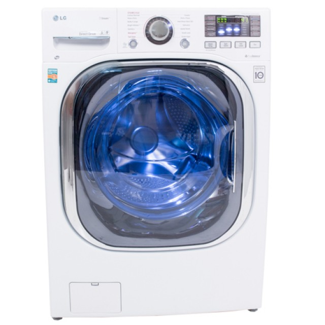 Lg Wm3997hwa Turbowash Series 27 In 4 3 Cu Ft Washer