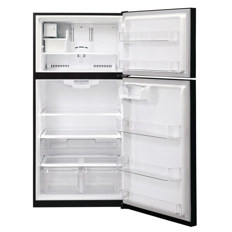 Lg Ltcs24223b 24 Cu Ft Top Freezer Refrigerator In