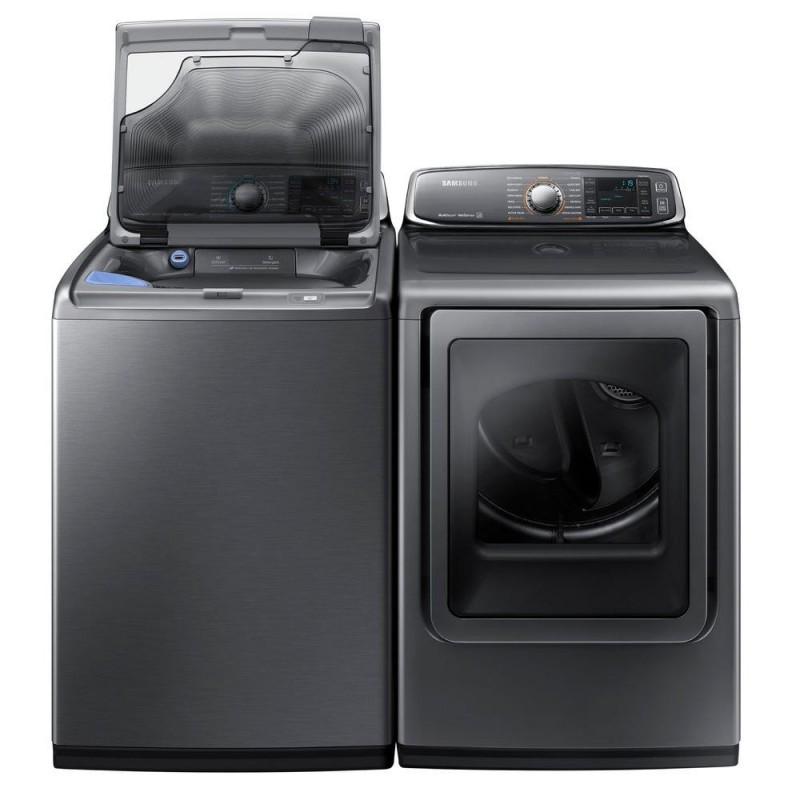 samsung washer and dryer samsung washer wa48j7770ap and samsung electric dryer 31165