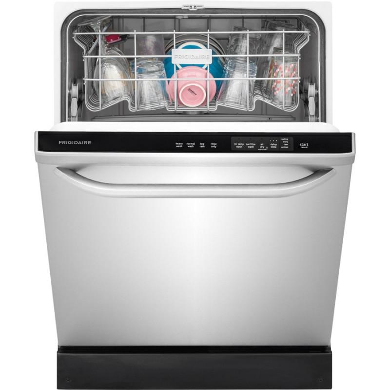 Shop Samsung 55 Decibel Built In Dishwasher Stainless: Frigidaire 55-Decibel Built-in Dishwasher With Hard Food
