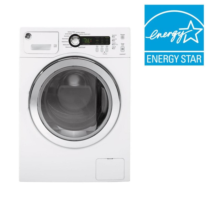 Ge Dcvh480ekww Front‑loading Compact Electric Dryer Ge