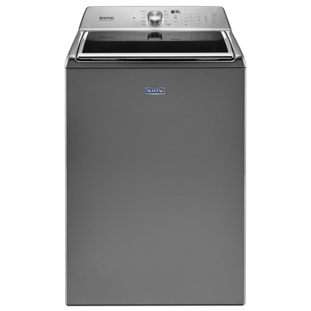 Maytag MVWB865GC 5.2 cu. ft. Top Load Washer with the Deep Fill Option and Power Wash Cycle in Metallic Slate