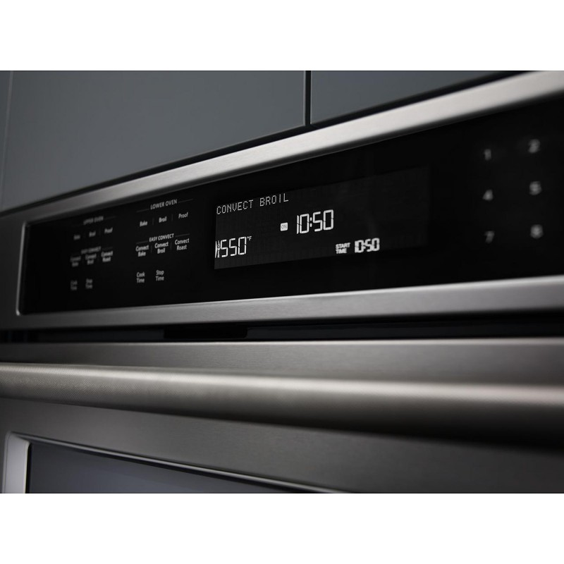 KitchenAid KOCE500ESS 30 In. Electric Even Heat True Convection Wall Oven  With Built In Microwave In Stainless Steel