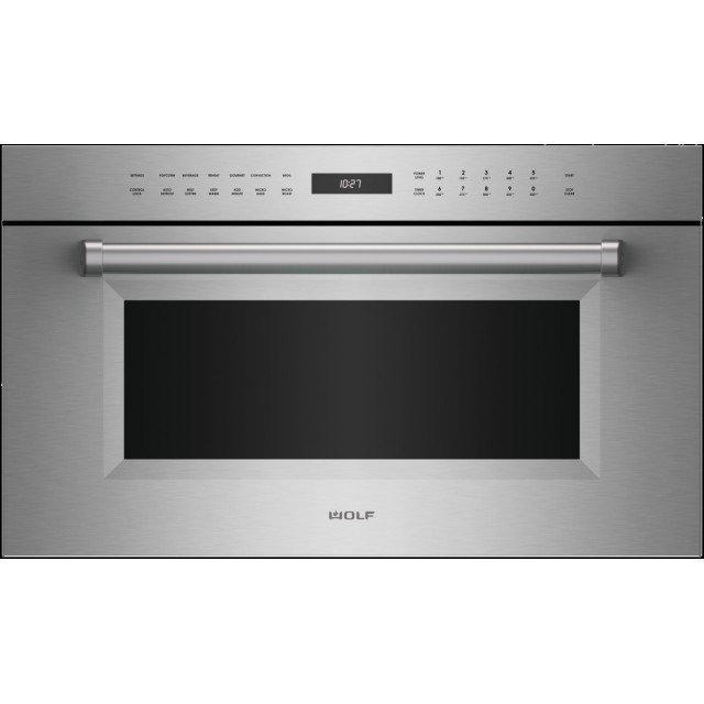 Wolf SPO30PMSPH 30 Inch Electric Speed Oven with Dual Convection