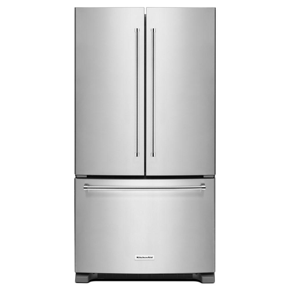 KitchenAid KRFC300ESS 20 cu. ft. French Door Refrigerator ...