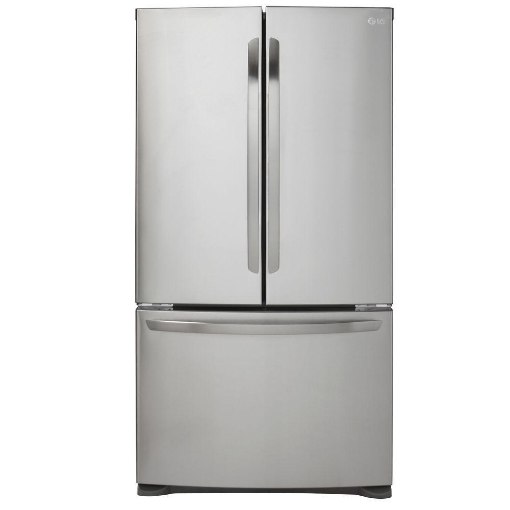 Lg Lfc21776st 20 9 Cu Ft French Door Refrigerator In