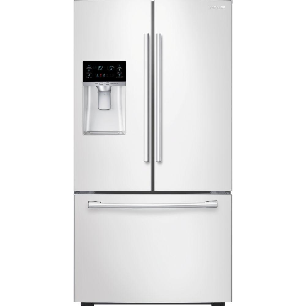 Samsung Rf23hcedbww 22 5 Cu Ft French Door Refrigerator