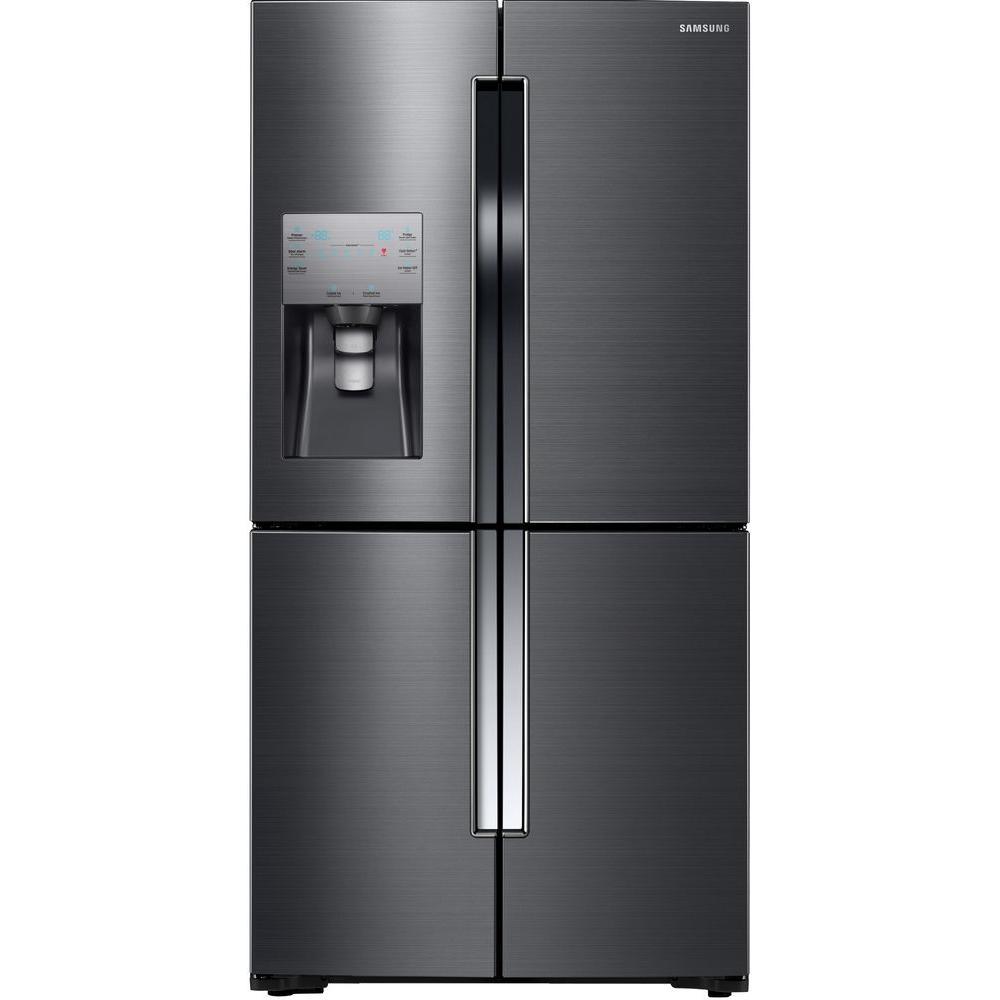 Samsung Rf23j9011sg 225 Cu Ft French Door Refrigerator In Black