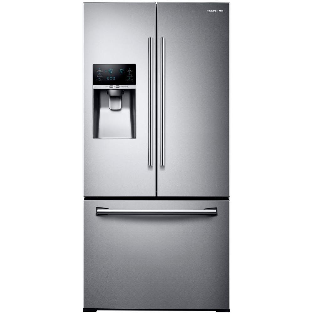 Samsung rf26j7500sr 33 in w 255 cu ft french door refrigerator w 255 cu ft french door refrigerator in stainless steel rubansaba