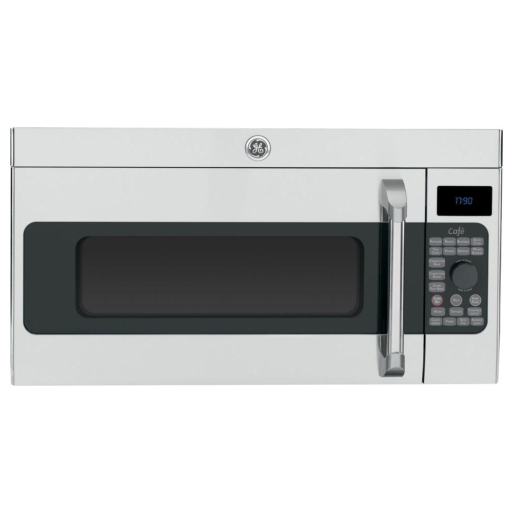 Ge Cafe Cvm1790ssss 1 7 Cu Ft Over The Range Convection Microwave In Stainless Steel