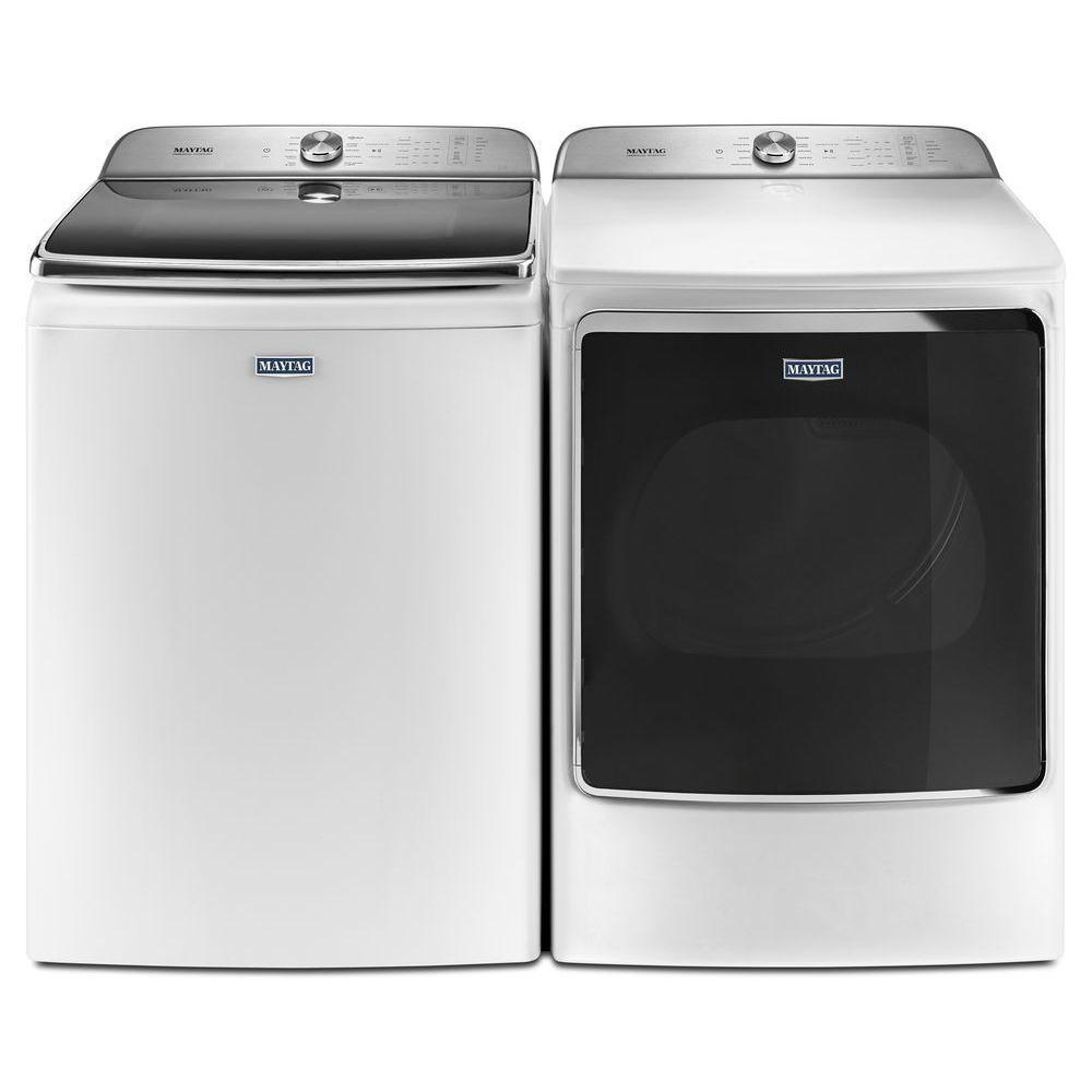 Maytag mvwb955fw 6 2 cu ft top load washer and medb955fw - Maytag whirlpool ...