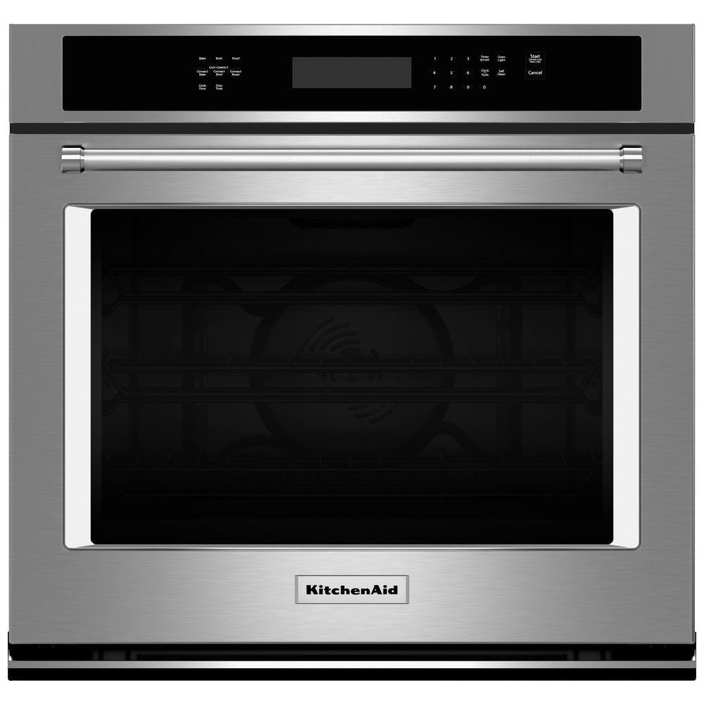 Beau KitchenAid KOSE500ESS 30 In. Single Electric Wall Oven Self Cleaning With  Convection In Stainless Steel